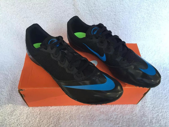 Zapatillas De Atletismo C/ Clavos Azules Y Negras Consultar