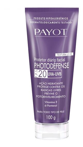 Protetor Solar Facial Payot - Photodéfense Fps20 100g