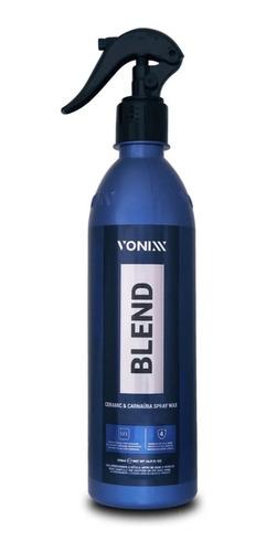 Cera Liquida Blend Carnauba C/ Silica Spray Wax Vonixx 473ml