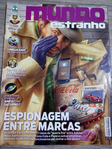 Revista Mundo Estranho 183 - Julho 2016