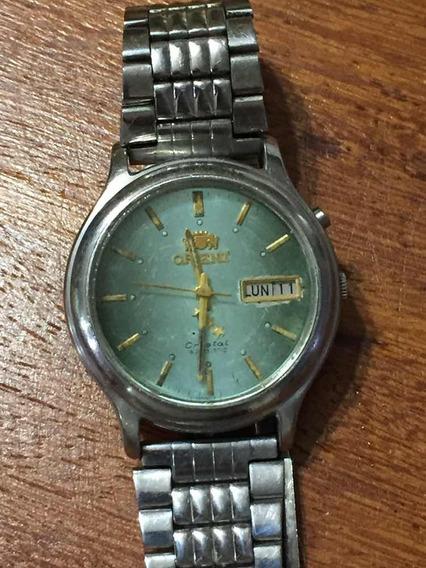 Relógio Antigo Original Orient Automático Masculino