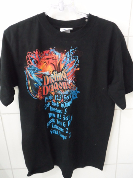 Camisa Dueling Dragons Universal Studios - Import Tam M