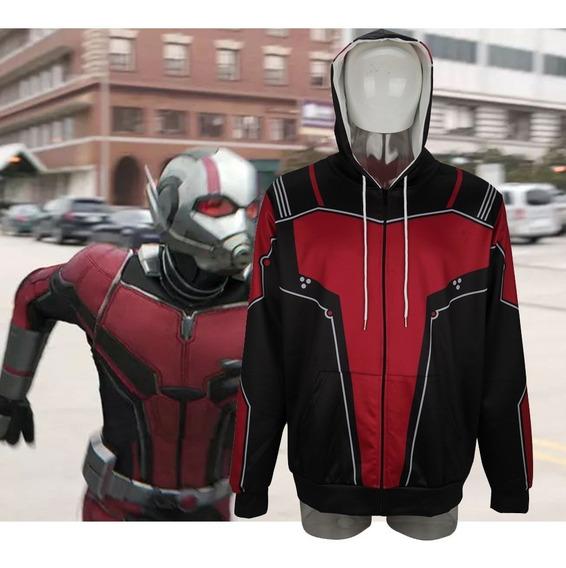 Avengers 4: Endgame Superhero Ant- Hombre Capucha Cosplay Tr
