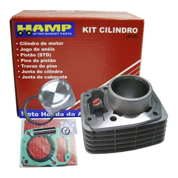 Kit Cilindro Motor Bros 150 2011 Original Honda Hamp Com N/f