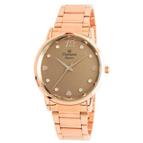 Relógio Feminino Champion Social Cn24066r - Rosê