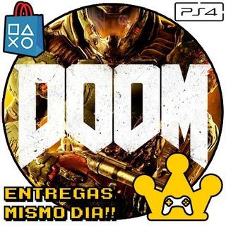 Doom Ps4 Digital Español Jugá Con Tu Usuario! 1° -kg-