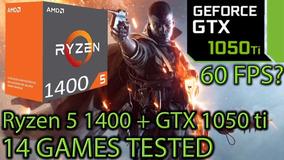 Pc Gamer. Ryzen + Gtx 1050 Ti