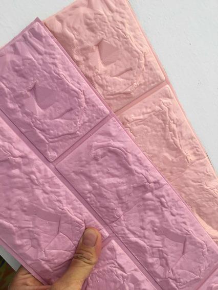 Tapiz Para Pared 3d Pe ( 10 Pcs *violeta / Púrpura)