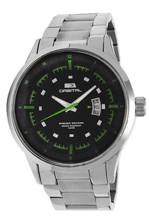 Reloj Orbital Acero Hombre 3atm Cyber Outlet