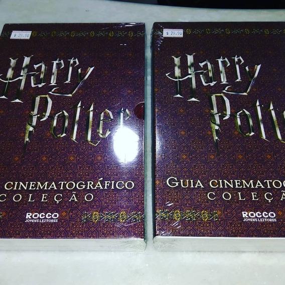 Box Harry Potter Guia Cinematográfico 4 Livros Lacrado