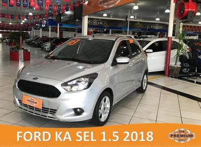 Ford / Ka Sel 1.5 2018 - Completissimo - Baixo Km - Novissim