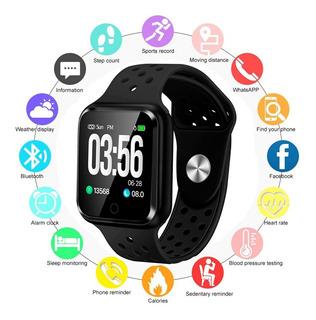 Smartwatch Relógio Inteligente Fitness S226 Ios Android Gps Pressão Sono Batimentos C/nota Fiscal + Brinde Promoção