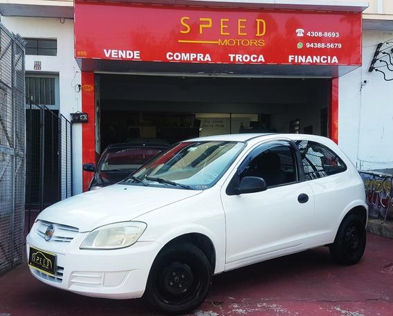 Gm - Chevrolet - Celta 1.0 Life - 2008 - Troco - Financio