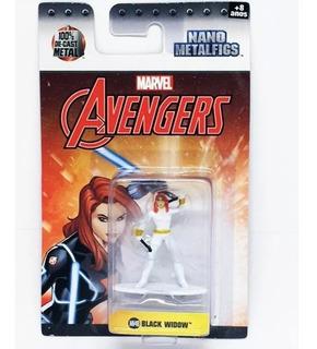 Avengers Black Widow Nano Metalfigs Marvel Original