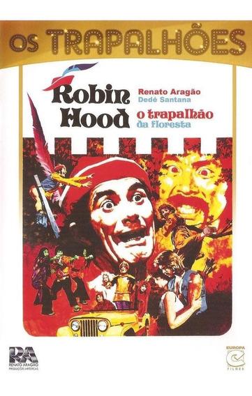 Robin Hood - O Trapalhão Da Floresta - Dvd - Renato Aragão