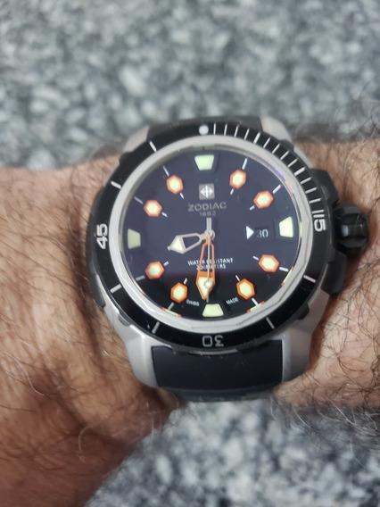 Relógio Zodiac Sea Dragon Xx4/5000 Pecas Limitado Diver 200m