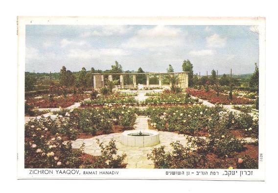 Antigua Postal Zichron Yaaqov Ramat Hanadiv Israel 547