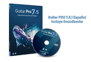 Dvd Guitar Pro 7.5.2 + Soundbanks