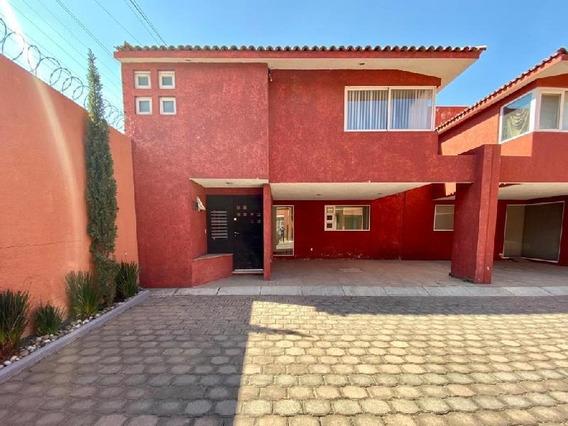 Casa En Condominio En Renta En San Salvador Tizatlalli, Metepec, México