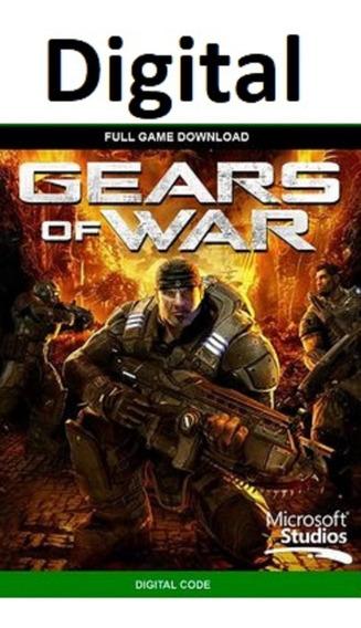 Gears Of Wars - Xbox 360 - Mídia Digital - Código Digital