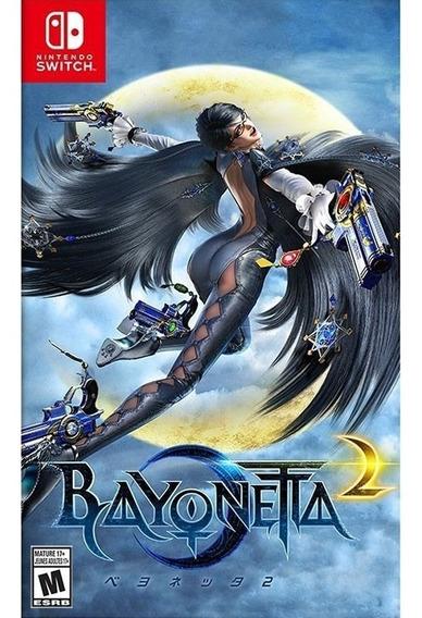 Bayonetta 2 Nintendo Switch Mídia Física Novo Lacrado