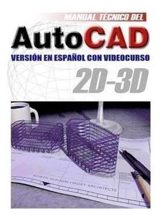 3x1 Libro Autocad + Video Cursos + Programa