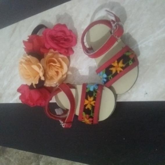 Sandalis Yucatecas Para Niñas