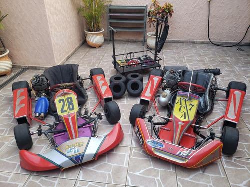 Imagem 1 de 12 de Kart Equipe Com 2 Karts