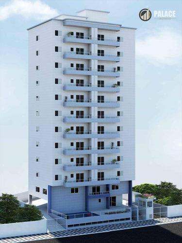 Apartamento Com 2 Dormitórios À Venda, 63 M² Por R$ 316.000,00 - Vila Assunção - Praia Grande/sp - Ap1696