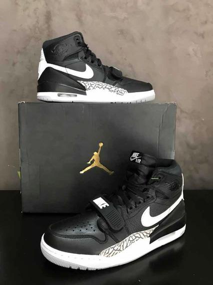 Sneakers Originales Jordan Legacy 312 Black White Or