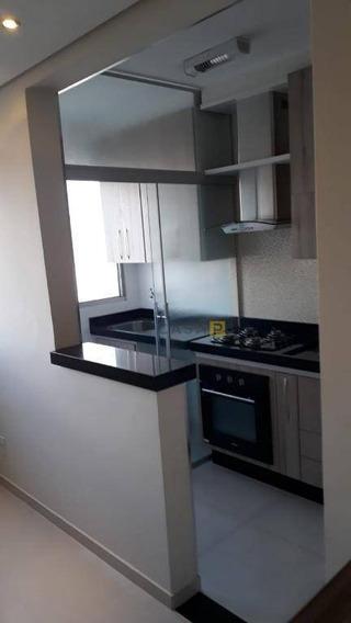 Apartamento Com 2 Dormitórios À Venda, 51 M² Por R$ 199.000 - Chácara Letônia - Americana/sp - Ap0444
