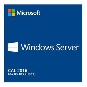 10 Cal Acesso Remoto Rds/ts Windows Server 2016 User/devic
