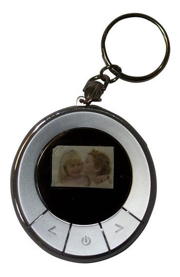 Porta-retratos Digital Com Lcd De 1.1 Polegadas E Relógio