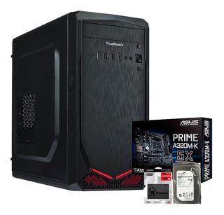 Pc Computadora Gamer Veloz Amd 12gb Ram 1tb Dd 120gb Ssd