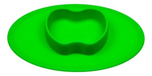 Imagem 1 de 3 de Jogo Americano Com Pratinho De Maçã Verde - Winly