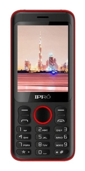 Celular Ipró Telefono A28 Negro/rojo