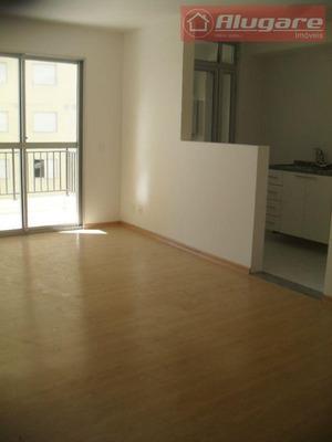 Apartamento Com 2 Dormitórios Para Alugar, 64 M² Por R$ 1.300/mês - Picanco - Guarulhos/sp - Ap0869