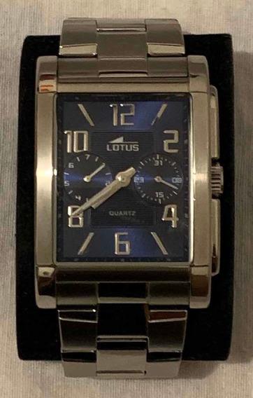 Reloj Original Para Caballero Marca Lotus 18220, Usado