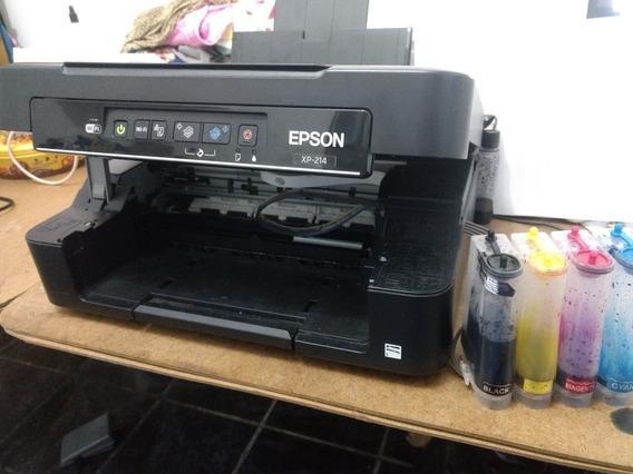 Impressora Epson Xp 214 Com Bulk Ink Não Imprime