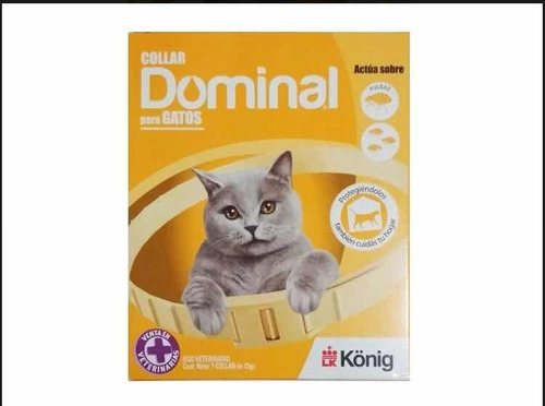 Collar Antipulgas Para Gatos Dominal