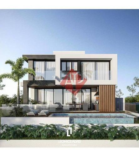 Imagem 1 de 6 de Casa Com 4 Dormitórios À Venda, 440 M² Por R$ 4.800.000,00 - Tamboré - Santana De Parnaíba/sp - Ca1451