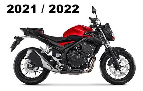 Imagem 1 de 1 de Honda Cb 500 F - Abs - 2021 / 2022 - Freios Abs
