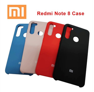 Capa Capinha Xiaomi Redmi Note 8 Anti Impacto Silicone Cores