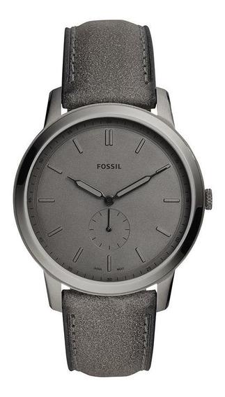 Relógio Fossil Masculino The Minimalist Grafite - Fs5445/0cn