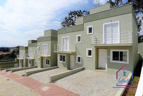 Imagem 1 de 19 de Casa Com 3 Dormitórios À Venda, 87 M² Por R$ 375.000,00 - Vilagio Do Sol - Cotia/sp - Ca0237