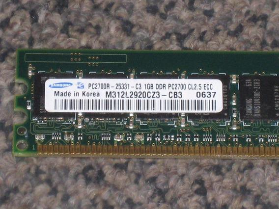 Memória Ram Para Servidor M312l2920cz3-cb3 Samsung