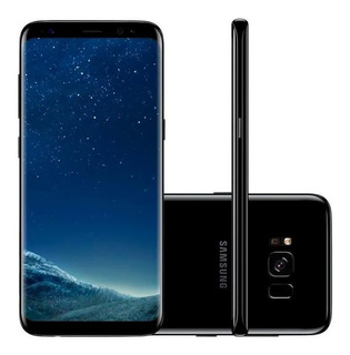 Galaxy S8+ Dual Chip 64gb G955 Novo Open Box Anatel Original