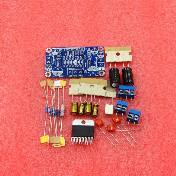 Kit Para Montar Amplificador De 100 Watts Com Ci Tda7294