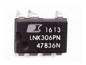 Kit 10 Unidades Lnk306pn - Lnk 306pn Dip7 Lnk306 Novo