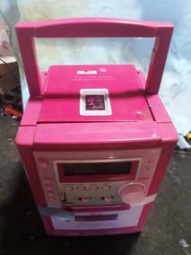 Radio Microsystem Barbie Lenoxx Brb-033 Lenox Brb 033 Usado